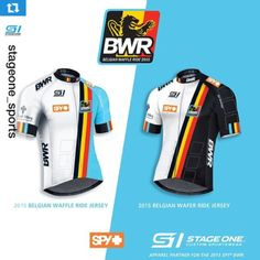 1f5680a88b9  Repost from  stageone sports of the  spyoptic Belgian waffle ride jerseys   Yesssss ・