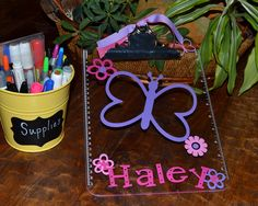 Personalized clipboard with Vinyl    by belleoftheballdesign, $14.00