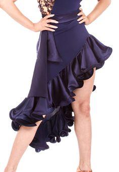 DSI Layla Latin Dance Skirt| Dancesport Fashion @ DanceShopper.com