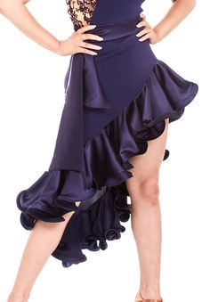 DSI Layla Latin Dance Skirt| Dancesport Fashion @ DanceShopper.com