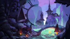 Frozen in Time by Apolline | Whimsical | 2D | CGSociety