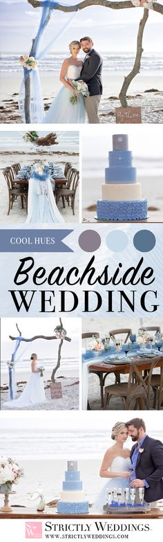 Inspired by the soft breeze of Florida's winter, this delicious editorial depicts the perfect beachside intimate winter wedding inspiration. Using the beautiful backdrop of the ocean, A Beautiful Theme created a romantic getaway that would be perfect for an intimate wedding, this one staged in Ponce Inlet a stone's throw away from Daytona.