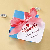 Personalized Favor Tags - Thanks (set of 36) – AUD $ 6.05