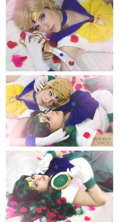 Space Love - AidaOtaku(Ai_Chan) Sailor Uranus Cosplay Photo - Cure WorldCosplay