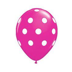 pink spotty balloon