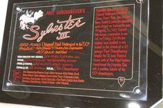 Sylvester display plaque