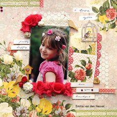 I Love You {Sa Crafters} - Scrapbook.com