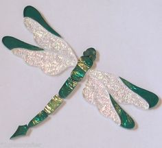 Dragonfly precut stained glass mosaic inlay kit. Many original designs selling on ebay.