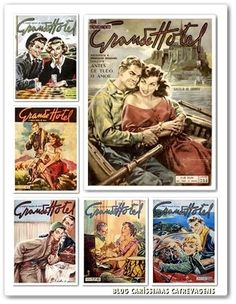 Grande Hotel, Nova, Couple, Magazine, Baseball Cards, Illustration, Fictional Characters, Vintage, Vintage Journals