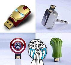Avengers pen drive! *o*