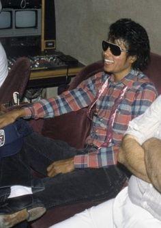Michael Jackson - love his smile here :)