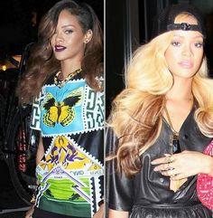 Rihanna Goes Blonde for 2013!!