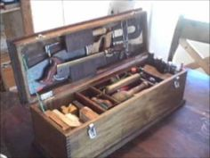 Luthier tool box acoustic guitar