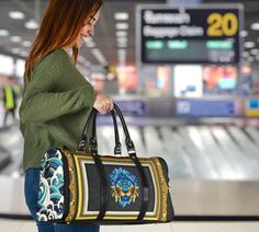 Waterproof Fabric, Marble Art, Travel Bags, Shoulder Strap, Blue Lion, Louis Vuitton Speedy Bag, Sporty Girls, Japan, Luxury