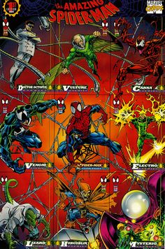 The Amazing Spider-Man card set 1994.