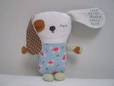 Personalised Children's Soft Toy Dog