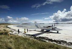 Barra Airport, Outer Hebrides, Scotland