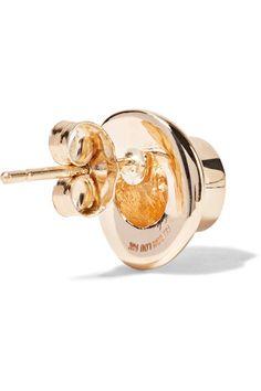 Alison Lou - Hasbro Hat 14-karat Gold Earring - one size