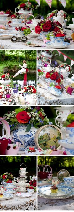 Mad Hatter Tea Party Table Decor