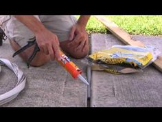 Three Diy Expansion Joint Repair Options Are Outlined Youtube Idea For Filling The Space Between Driveway Slabs Expansion Joint Home Repairs Repair