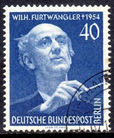 Berlin 1955 Furtwangler, fine used.