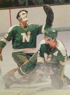Ice Hockey Rink, Hockey Goalie, Hockey Games, Hockey Players, Minnesota North Stars, Minnesota Wild, Wild North, Goalie Mask, Vancouver Canucks