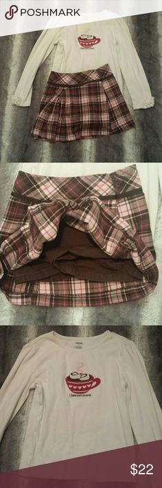 Girl's Gymboree Outfit size 7/8 Top 8, bottom 7, in good used condition, smoke-free and pet-free home, no pulls, rips or stains Gymboree Matching Sets