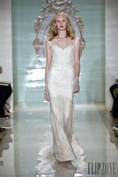 Reem Acra Spring-summer 2015 - Bridal - http://www.flip-zone.com/fashion/bridal/the-bride/reem-acra-4714