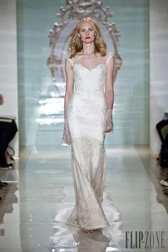 Reem Acra Spring-summer 2015 - Bridal - http://www.flip-zone.com/fashion/bridal/the-bride/reem-acra-4714