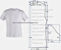 Mens t-shirt pattern