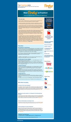 Firsty Group Newsletter Sept 2014