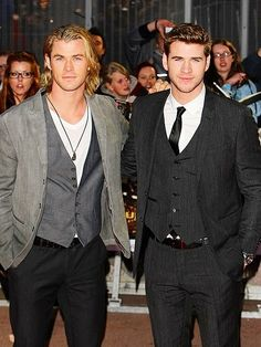 Hemsworth brothers. Seriously....they are not from this earth. FACK!