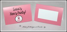 Pecker Willy Hens Party Place Cards #Cheeky #Willy #Penis #Pecker #Hens #Hen #Bachelorette #Night #Bridal #Shower #Personalised #Custom #Party #Decorations #Funny