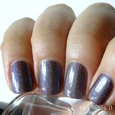 Ida Nails It: Lilypad Lacquer Sweetpea, Cool Suede, & Smoking Violet: Swatches and Review