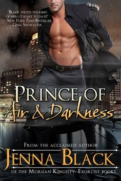 Prince of Air and Darkness by Jenna Black - Paranormal Romance book.