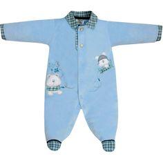 Macacão Plush para Bebê Menino Azul - Sonho Mágico :: 764 Kids | Roupa bebê e infantil