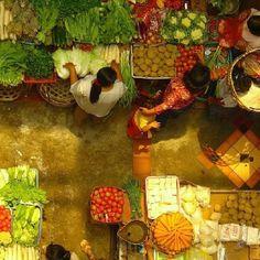 Kumbasari Market, Denpasar, Bali