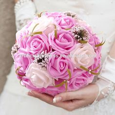 #rose kissing ball for #wedding decoration http://artificialflowerss.en.alibaba.com/product/60140896675-800538887/Kissing_ball_artificial_rose_balls_for_wedding_decoration.html
