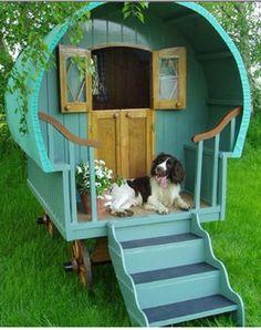 Kids playhouse, alternatively a dog mansion. Or both.