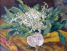 ❀ Blooming Brushwork ❀ - garden and still life flower paintings - Louis Valtat | Lilies of the valley