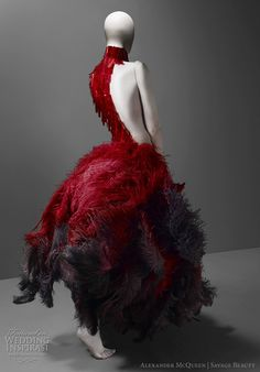 Alexander McQueen – Savage Beauty exhibition at The Costume Institute of the Metropolitan Museum of Art