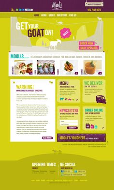 New website for Moolis in Soho Joomla Themes, Indian Street Food, Wordpress Theme Design, Website Themes, Web Application, Web Design Inspiration, Green And Purple, Soho, Restaurants