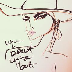 When in doubt wing it out. #cateye Cateye cowgirl