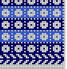Ravelry: Kadrina kindad pattern by Dagmar Säkäjärvi Knitting Charts, Knitting Stitches, Knitting Designs, Knitting Socks, Knitting Patterns, Knitting Tutorials, Free Knitting, Motif Fair Isle, Fair Isle Chart