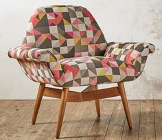 Designer Edition: 1960s-style Carnaby Chair by Claire Gaudion for Swoon Editions