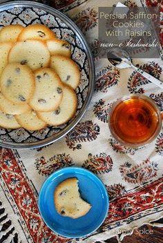 Persian Saffron Cookies (Nan-e Keshmeshi)