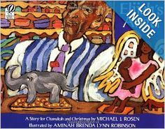 ELIJAH'S ANGEL: A STORY FOR CHANUKAH AND CHRISTMAS: A child's vision of religious tolerance is exquisitely played out in this story about an elderly Christian barber and a Jewish child who befriends him.