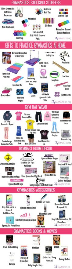 The BEST Gifts for Your Gymnast: with an expanded section of gifts for how to practice gymnastics at home
