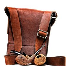 Tobacco bag Briar and leather just seem to work well together... www.eacarey.co.uk #tobacco #bag #leather #pipes