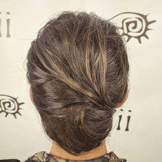 #hairbyshannonkezy #updo #style #sleek #frenchroll